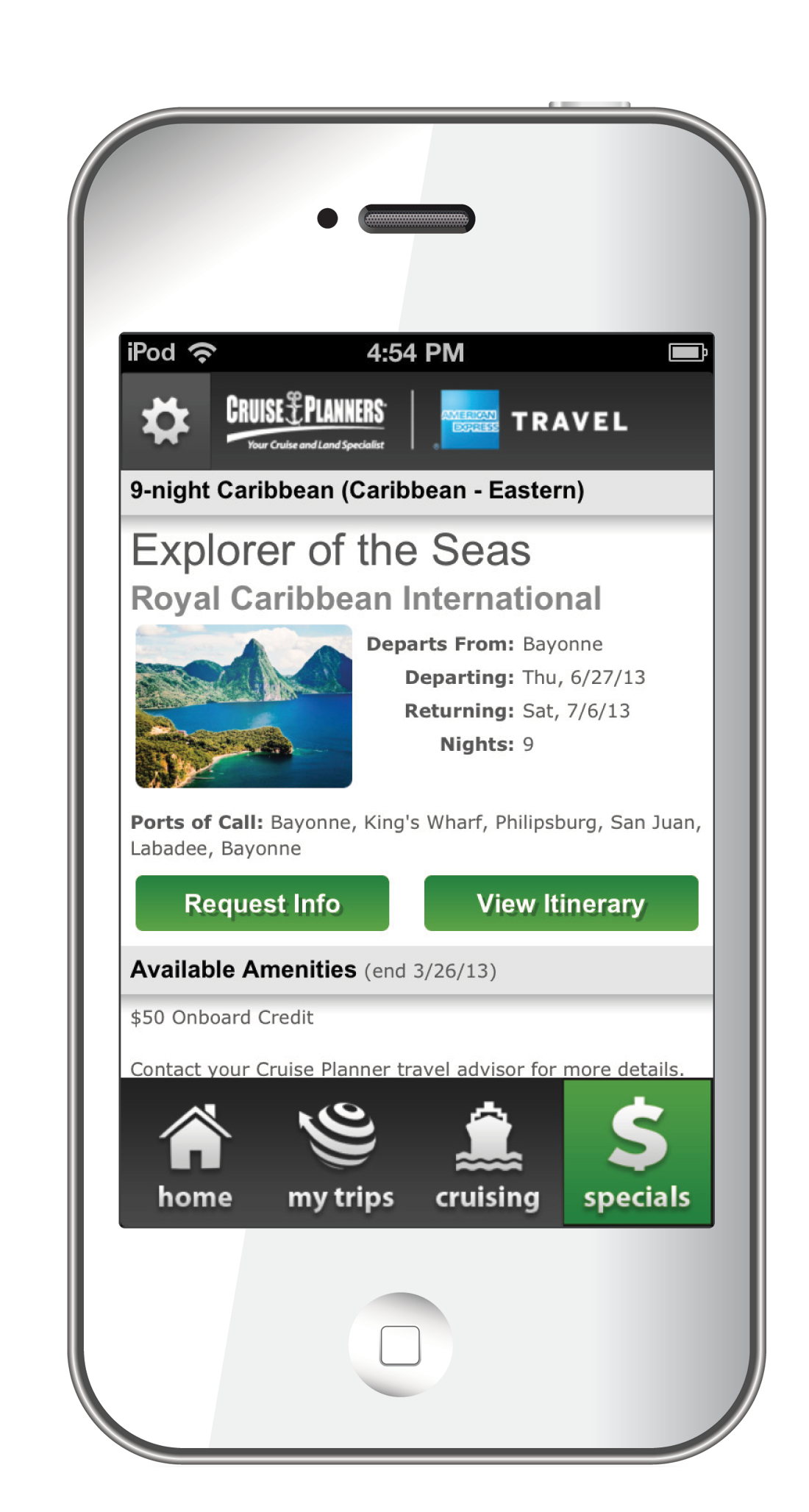 All Discount Cruises Cruise Planners Mobile App - Mobile cruises